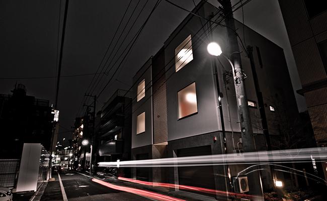 鉄骨住宅の実例-白金SY邸