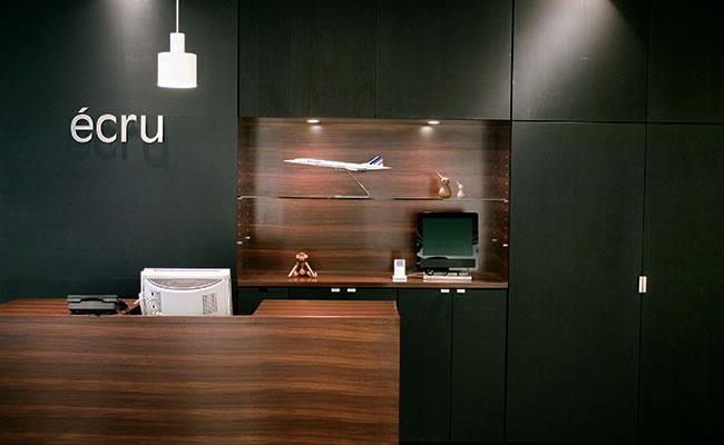 店舗の実例-美容室ecru ohmiya