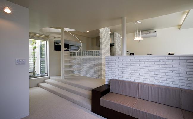 鉄骨住宅の実例-竹の塚IW邸