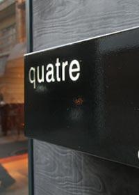 店舗の実例-カフェquatre