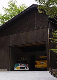リフォームの実例-裾野OHガレージ写真
